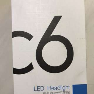 C6 LED大燈 6000K 白光