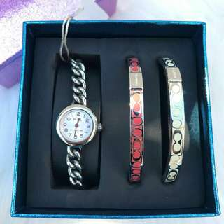 Readystock. Original Coach Womens Waverly Watch