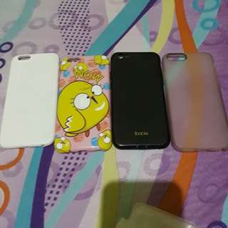 Sale..softcase iphone 6 (take all) jual murah.uda ga pke.