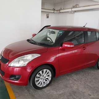 11/2014 suzuki swift glx keyless high spec