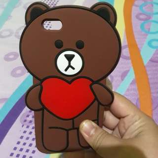 Sale..softcase jelly bear love (like new).iphone 6