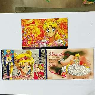 Sailormoon Queen Selenity card collection No.45, 55 & 75 #rayaletgo