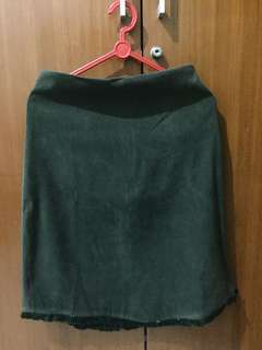 Army skinny skirt