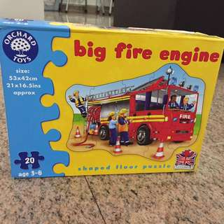 Orchard Toys Big Fire Engine Shaped Puzzle