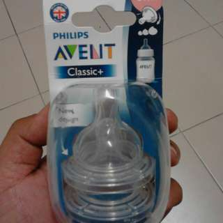 Avent classic Teats 3m