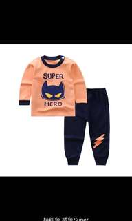 Long sleeve pajamas - Super Hero