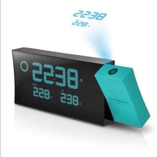 全新 Oregon PRYSMA B 稜光天氣預報投影時計鬧鐘