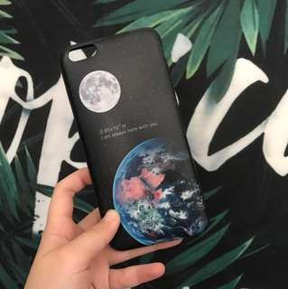 🌎Iphone 月球地球星空電話殼