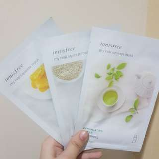 Innsifree My Real Squeeze Mask Manuka Honey