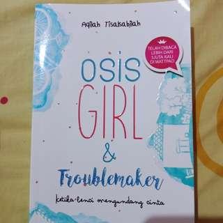 novel osis girl & troublemarker