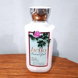 Hello Beautiful Bath & Body Works Lotion