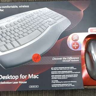 W2S Microsoft wireless Curved KB Mouse