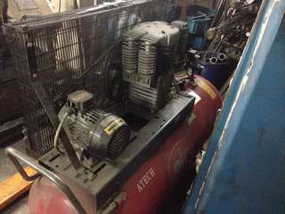 5.5 Hp air compressor with MOM certificate