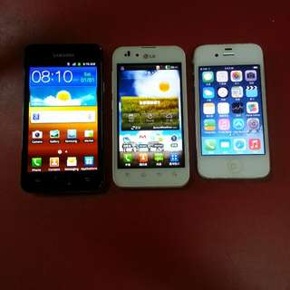 All Three Mobile Phones
