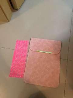 """12吋粉紅手提電腦套12""""laptop cover"""