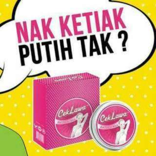 (INSTOCK AVAIL) Authentic Cek Lawa Underarm Whitening Krim Pemutih Ketiak by Cassia Leaf PO