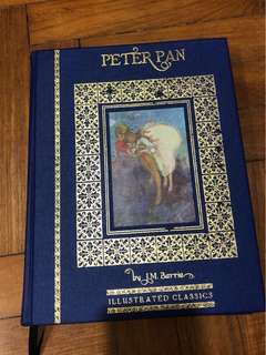 Peter Pan Illustrated Classics Hardcover