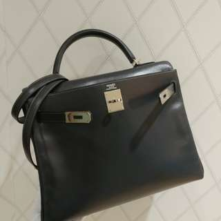 Hermes kelly 32 graphite