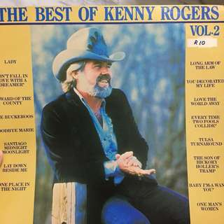 Kenny Rogers vinyl record