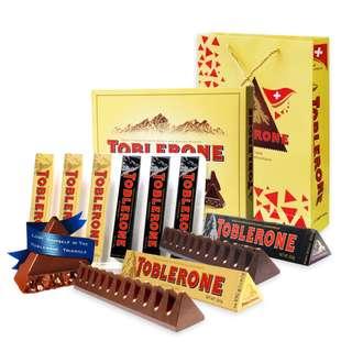 好市多瑞士三角巧克力組合組