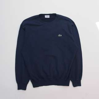 Lacoste Crewneck Navy 2nd Original