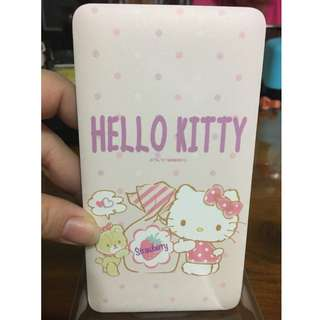 〔CHI〕改版雙自帶線 HELLO KITTY 12000mah 行充