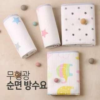韓國製 防水隔尿床墊 (不含營光劑)