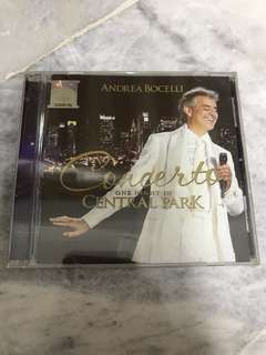 Andrea Bocelli - Concerto One night in Central Park