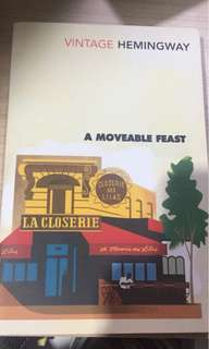A Moveable Feast (Ernest Hemingway) - Original Imported Book