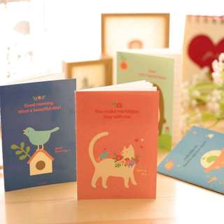 Happy Day Mini Notebook Memopad