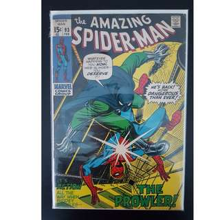 Amazing Spider-Man (1971) 1st Series) #93