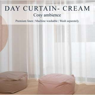 Day Curtains / 99% Sunlight Blockout / Blackout Curtains
