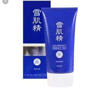 SEKKISEI SUN PROTECT ESSENCE GEL SPF 50+/PA ++++