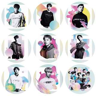KPOP BUTTON BADGE