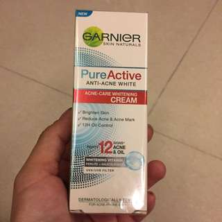 garnier acne care whitening cream