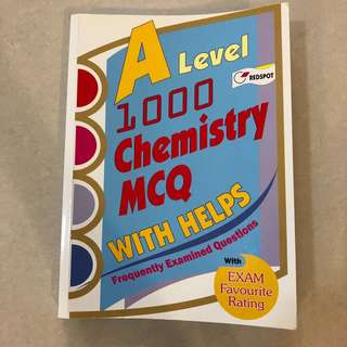 A Level 1000 Chemistry MCQ With Helps