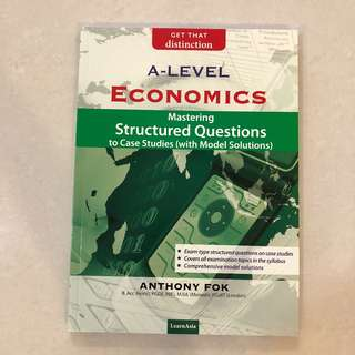 BRAND NEW A Level Economics Mastering Structured Questions to Case Studies