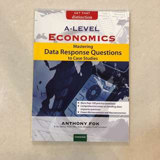 BRAND NEW A Level Economics Mastering Data Response Questions to Case Studies