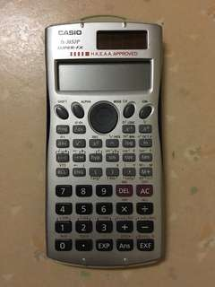 Casio Calculator 計數機 fx-3650P