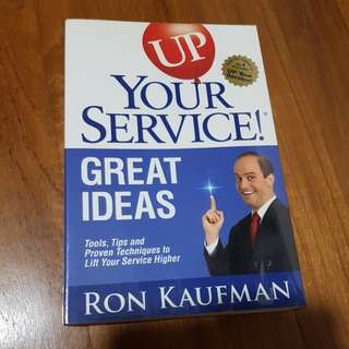 Up your service! Great ideas