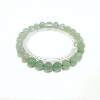 Genuine 8mm Jade Bracelet 翡翠手链