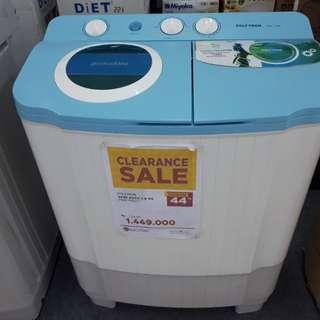 Promo mesin cuci display proses 3 menit