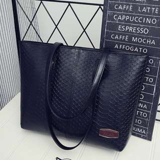 Snake Skin Design Bag
