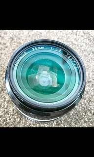 Nikon 24mm F2.8 AIS Manual Mint Collectible Rare