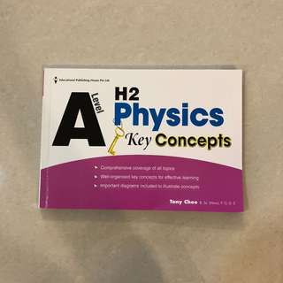 BRAND NEW A Level H2 Physics Key Concepts