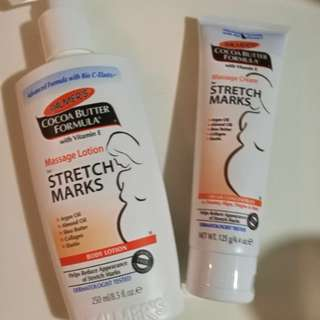 Palmers cocoa butter stretch marks crem and lotion