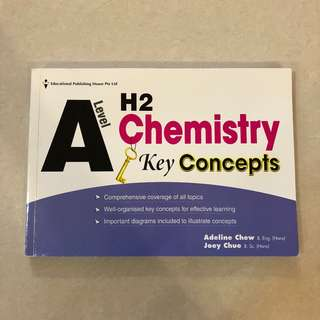 BRAND NEW A Level H2 Chemistry Key Concepts