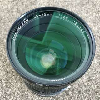 Nikon AIS 35-70mm F3.5 Manual Lens Collectible Rare