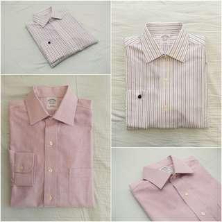 2 x Brooks Brother shirts