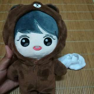 EXO Doll, Keyring, clothes - (Chanyeol, Lamee, Yeollang)
